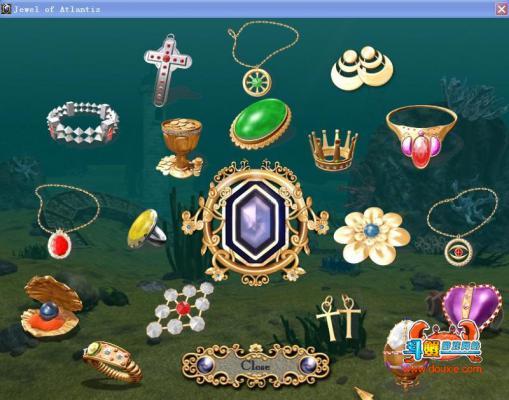 亚特兰蒂斯宝石(Jewel of Atlantis)游戏截图(1)