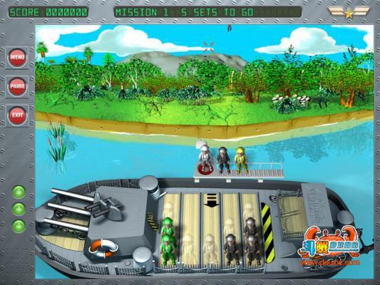 伞兵船长(Captain Chromax)游戏截图(1)