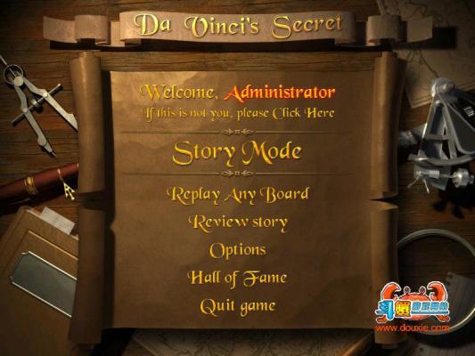 达芬奇的秘密(The Da Vinci/'s Secret)游戏截图(2)