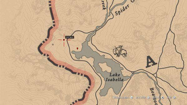 荒野大镖客2三种稀有马位置